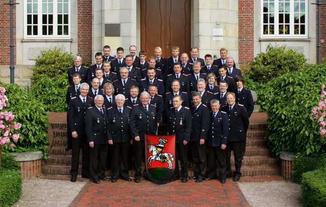 Mitglieder der FF Ritterhude – 2009