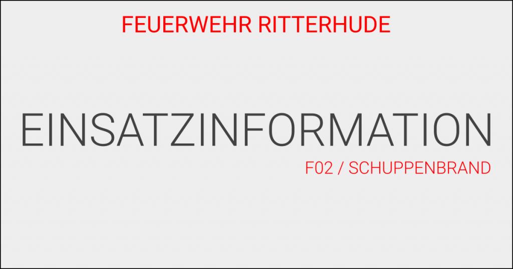 F02/Schuppenbrand