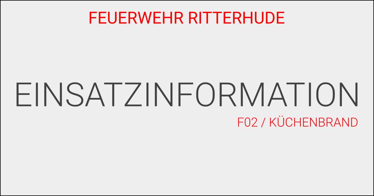 F02/Küchenbrand