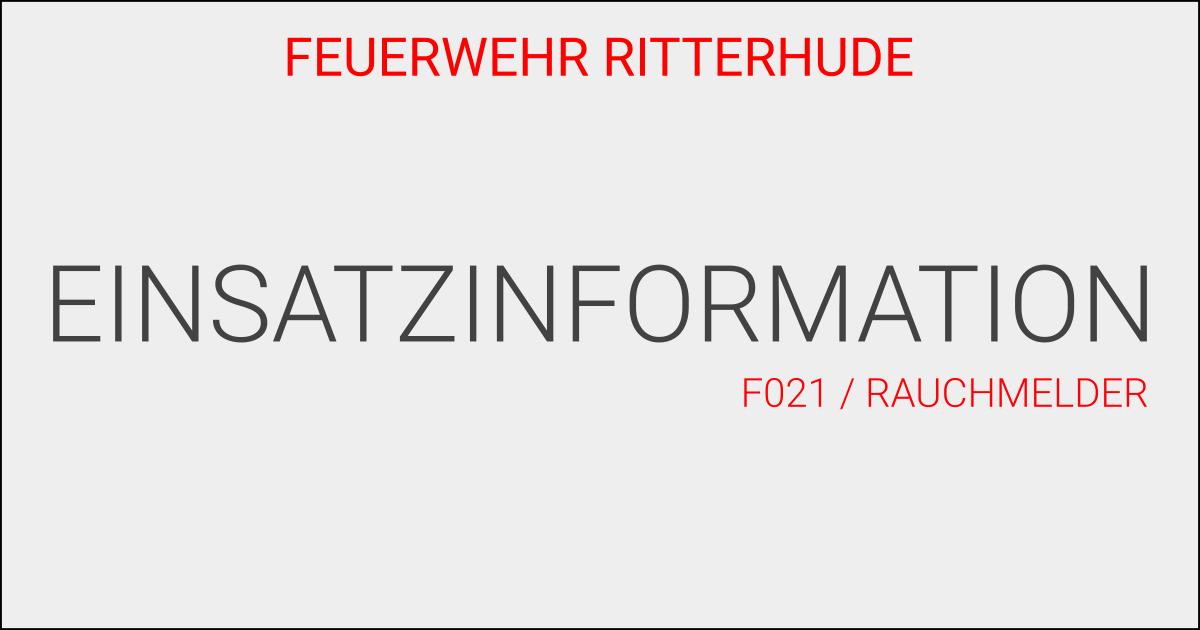F021/Rauchmelder