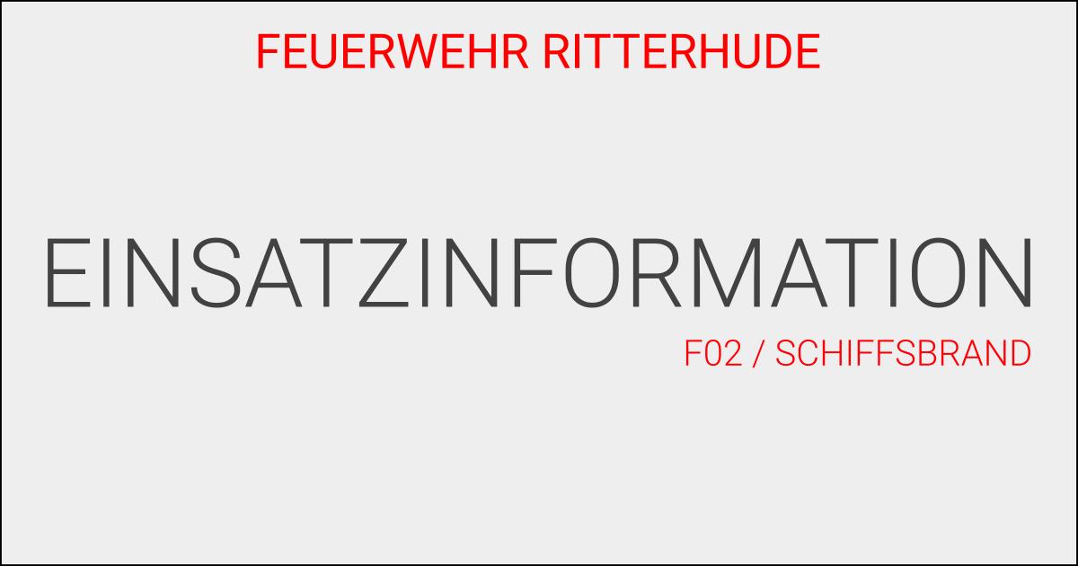 F02/Schiffsbrand